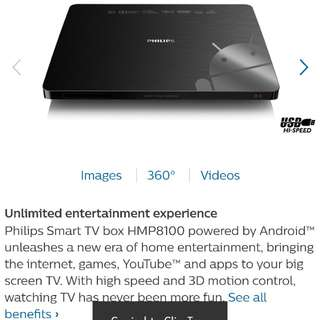 Philips Smart TV Box (Android)