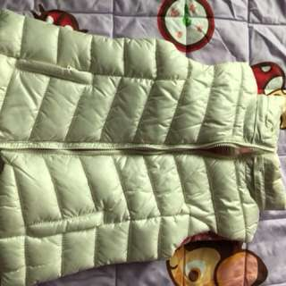 Zara kids down jacket cold wear