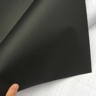 Matte Black Vinyl Car Wrap Motorcycle Scooter DIY Styling Adhesive Sticker