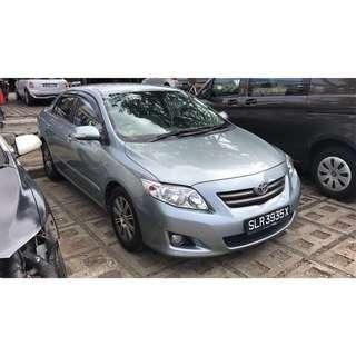 Toyota Altis 1.6Auto