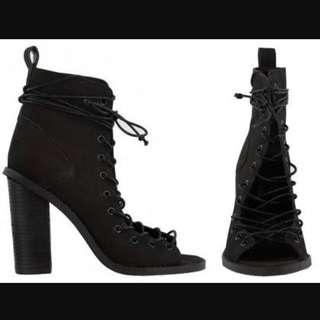 Tony Bianco Kinston Lace Up Heels 5.5
