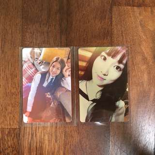 [WTT] Gfriend Snowflake and Flower Bud Photocards