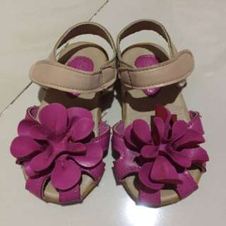 Flower kids shoes