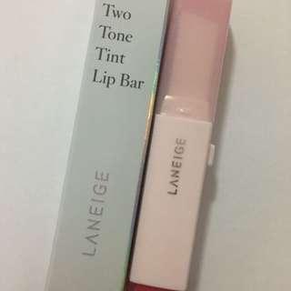INSTOCK LANEIGE two tone lip tint bar