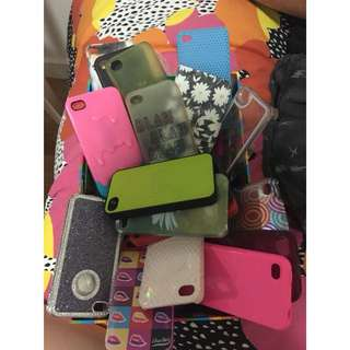 Heaps of iPhone 4/iPod touch cases
