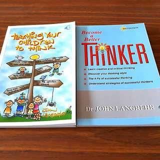 2 for $9: Teaching Your Children to Think, Become a Better Thinker