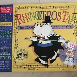 Rhinoceros Tap by Sandra Boynton with CD