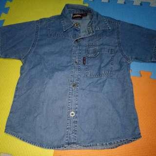 Artex Polo Denim Shirt(Size Medium)