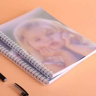 Customised photo notebook ringbind