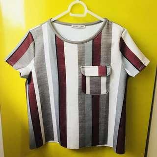 Zara Blouse Stripes (Medium)