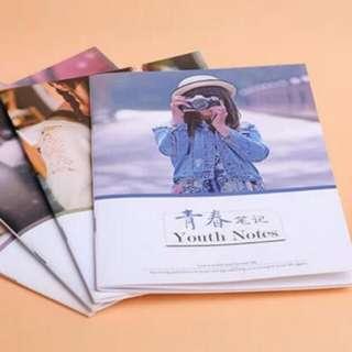 Customised photo notebook
