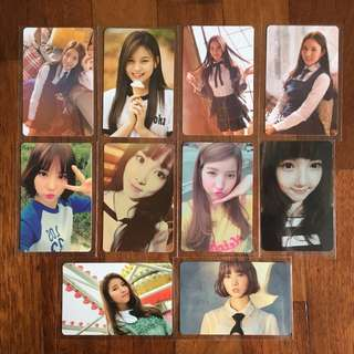 [Sale] Gfriend Photocards
