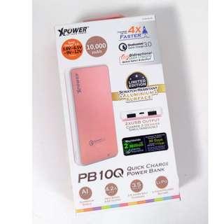 XPOWER XP-PB10Q 雙向Quick Charge 3.0 2-Port USB 10,000mAh 外置充電器 (鋁合金限量版)