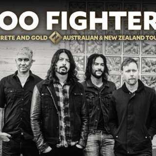 Foo Fighter tickets 2x