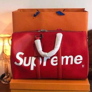 Louis Vuitton supreme bag