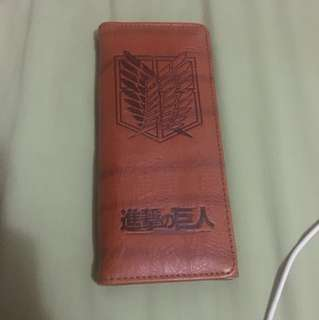 Attack on Titan Wallet