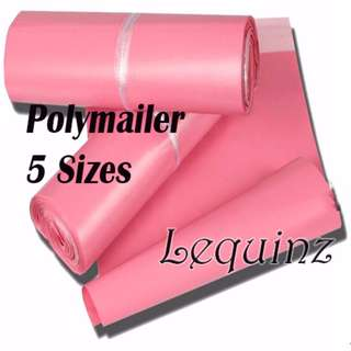 Matt Pink Poly mailer Bags