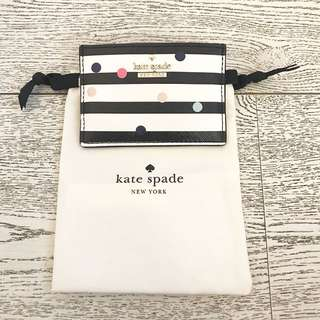 Authentic preloved kate spade card holder
