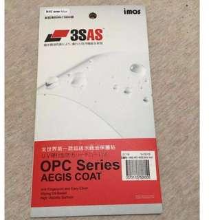 全新)HTC ONE MAX imos 3SAS 疏水疏油螢幕保護貼