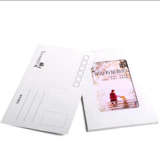 Customised photo postcards