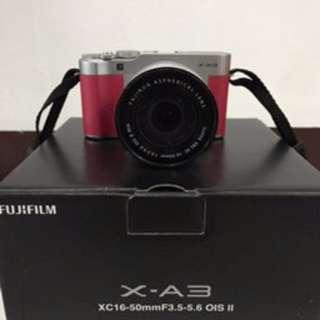 Kamera Mirorless Fujifilm XA3 X-A3 Like new
