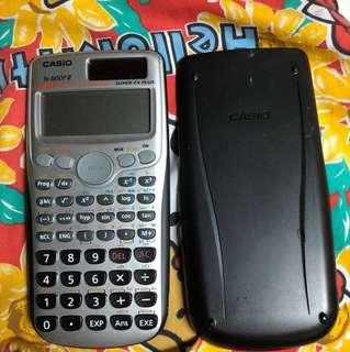 Casio fx3650p ii dse m1 m2必備計數機