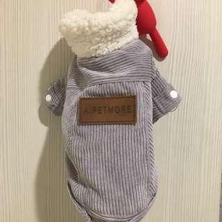 9成新!刷毛寵物衣服