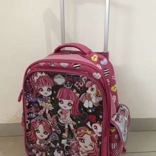 Girl School Trolley Bag