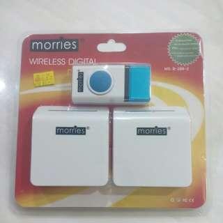 Morries Wireless Digital Doorbell