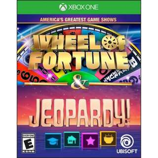 Wheel of Fortune and Jeopardy America's Greatest Game Show Xbox One