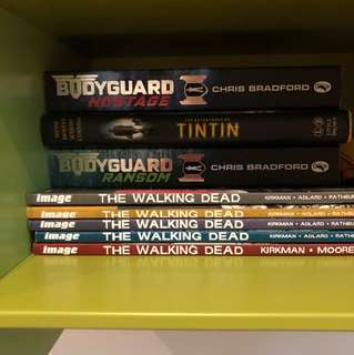 Walking dead comic books 1-5