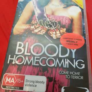 Bloody Homecoming DVD. Ex-Rental