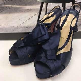 Christian Louboutin Satin High Heel