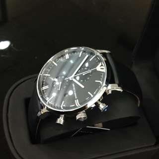 100%new and 100%Original Armani Watches Genuine leather
