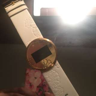 Jag Leather Watch Floral