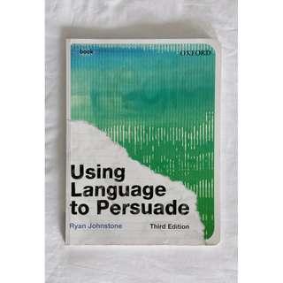 Using Language to Persuade