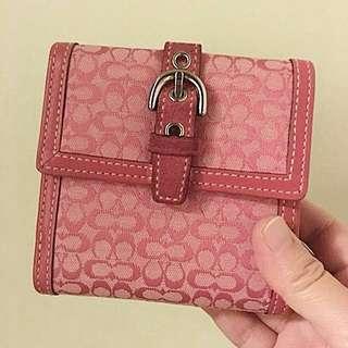 🈹️Coach桃粉紅色銀包 (Wallet)