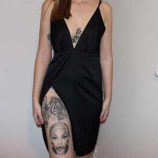 Meshki Side Split Dress