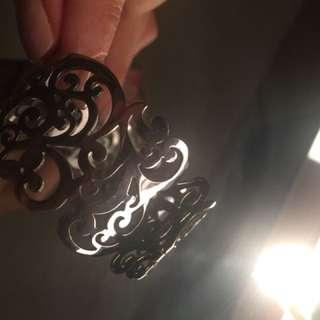 Stainless Steel Filigree Bracelet