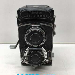 Minolta Autocord Vintage Camera