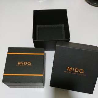 MIDO 錶盒連外紙盒