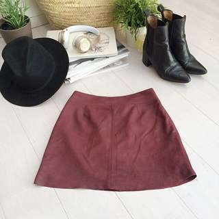 *Price drop* Genuine Leather Skirt WAS $70
