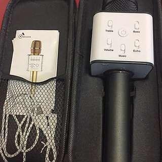 藍芽無線咪連盒 (黑色版) 支援Apple, Android