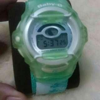 CASIO Baby G Shock Reef green BGR-210 1850 /jam tangan import pria wanita