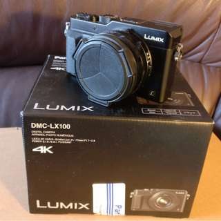 Panasonic DMC-LX100 (black) full box set plus accessories