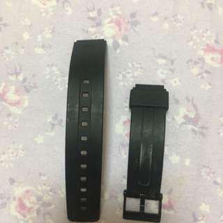 Original casio black strap
