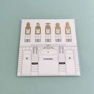 Chanel bookmarks