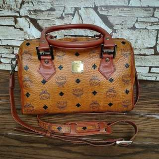 Authentic MCM Speedy 26 Handbag