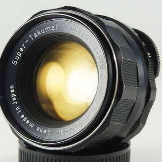 **日光銀鹽** 日鏡 Pentax Super-Takumar 55mm f1.8 M42接環 #073