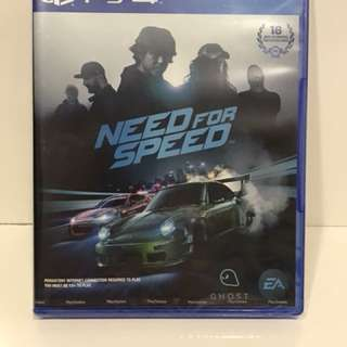 PS 4 GAMES - NEED FOR SPEED BRAND NEW